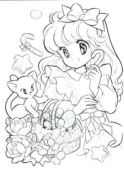 429x609 Japanese Coloring Pages Anime Coloring Book Coloring Books As Well
