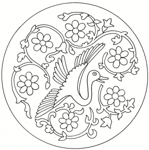 297x300 Creative Japanese Designs Coloring Pages Art Culture, Japanese Art