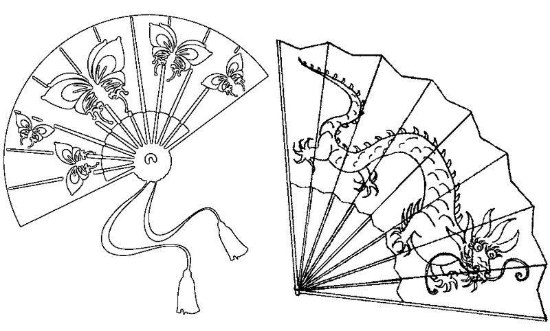 800x482 Eventails Japonais Dover Publications Adult