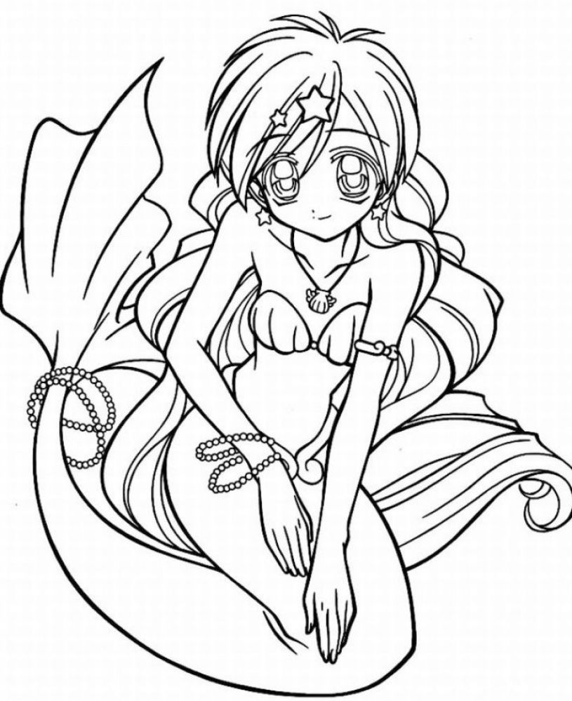 815x999 Best Of Coloring Pages To Print For Teenagers Mermaids Free