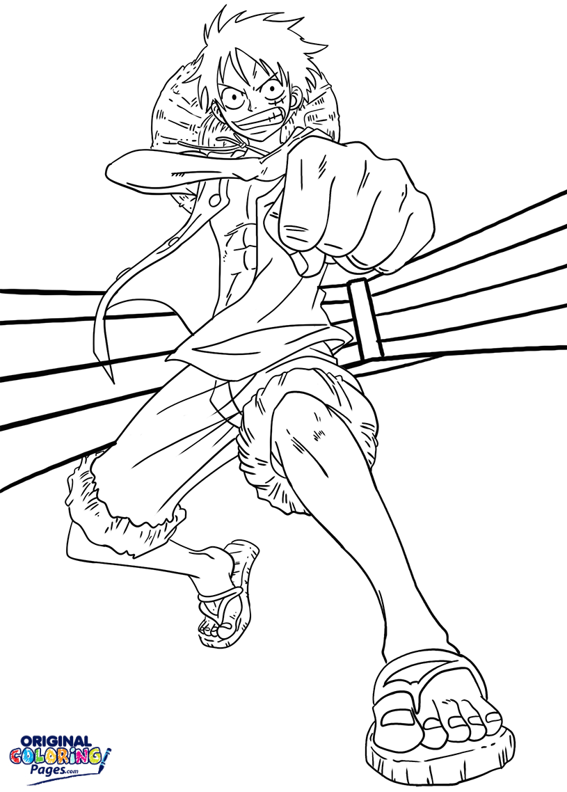 815x1138 Luffy Anime Coloring Page Coloring Pages Original Coloring Pages
