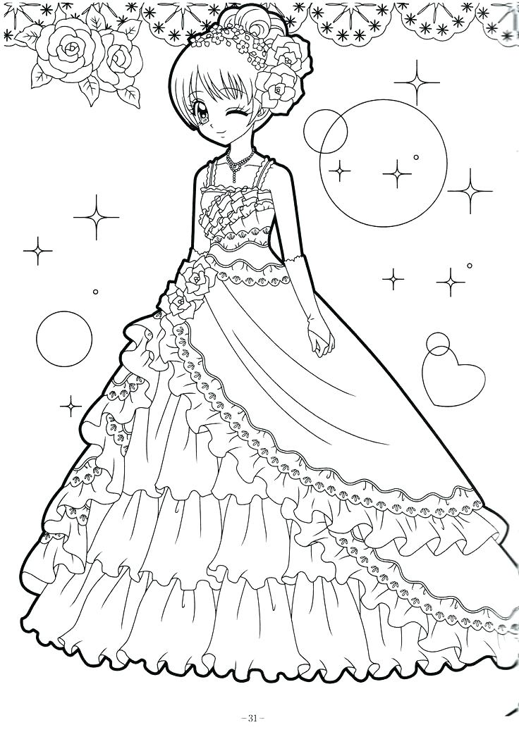 736x1039 Animation Coloring Pages Anime Girl Coloring Nice Stunning