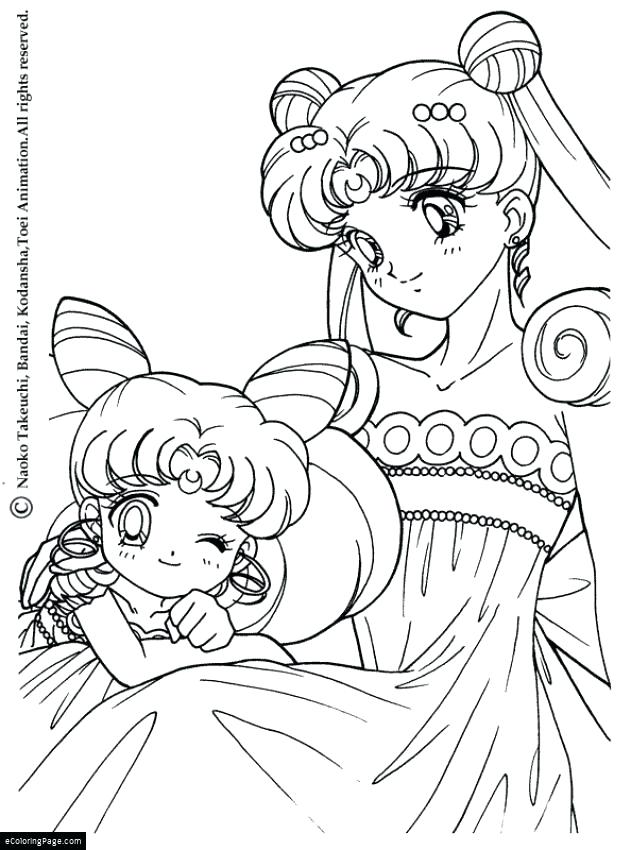 631x850 Animation Coloring Pages Anime Sailor Moon Princess Coloring Page