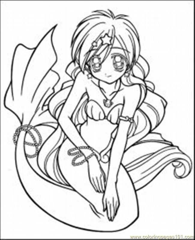 650x797 Anime Coloring Pages Med Coloring Page
