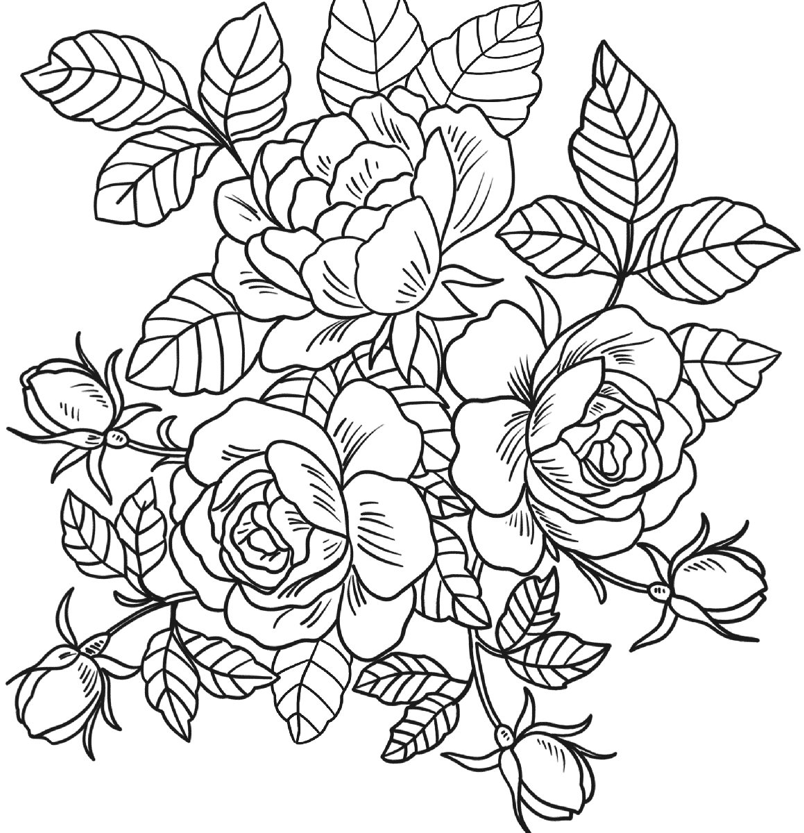 1159x1200 Coloring Pages Of Cherry Blossom Trees Orange Spring Blossoms
