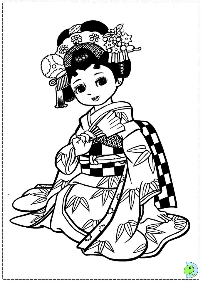 691x960 Japanese Coloring Pages New Japanese Art Coloring Pages Printable