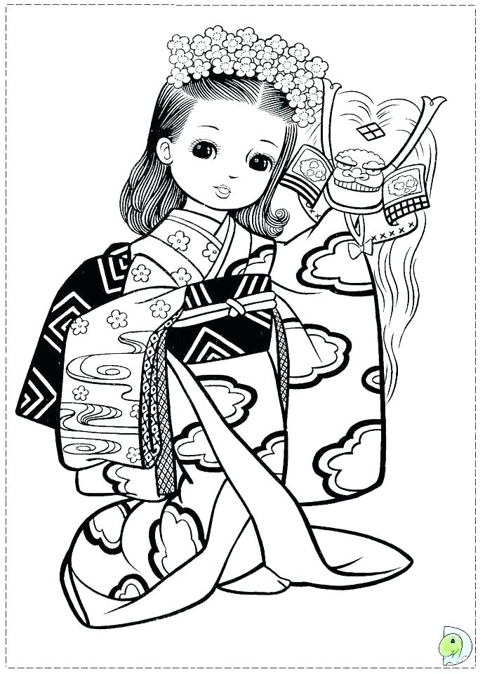 691x960 Coloring Japanese Coloring Page Pages As Well Boy From Japan Sky