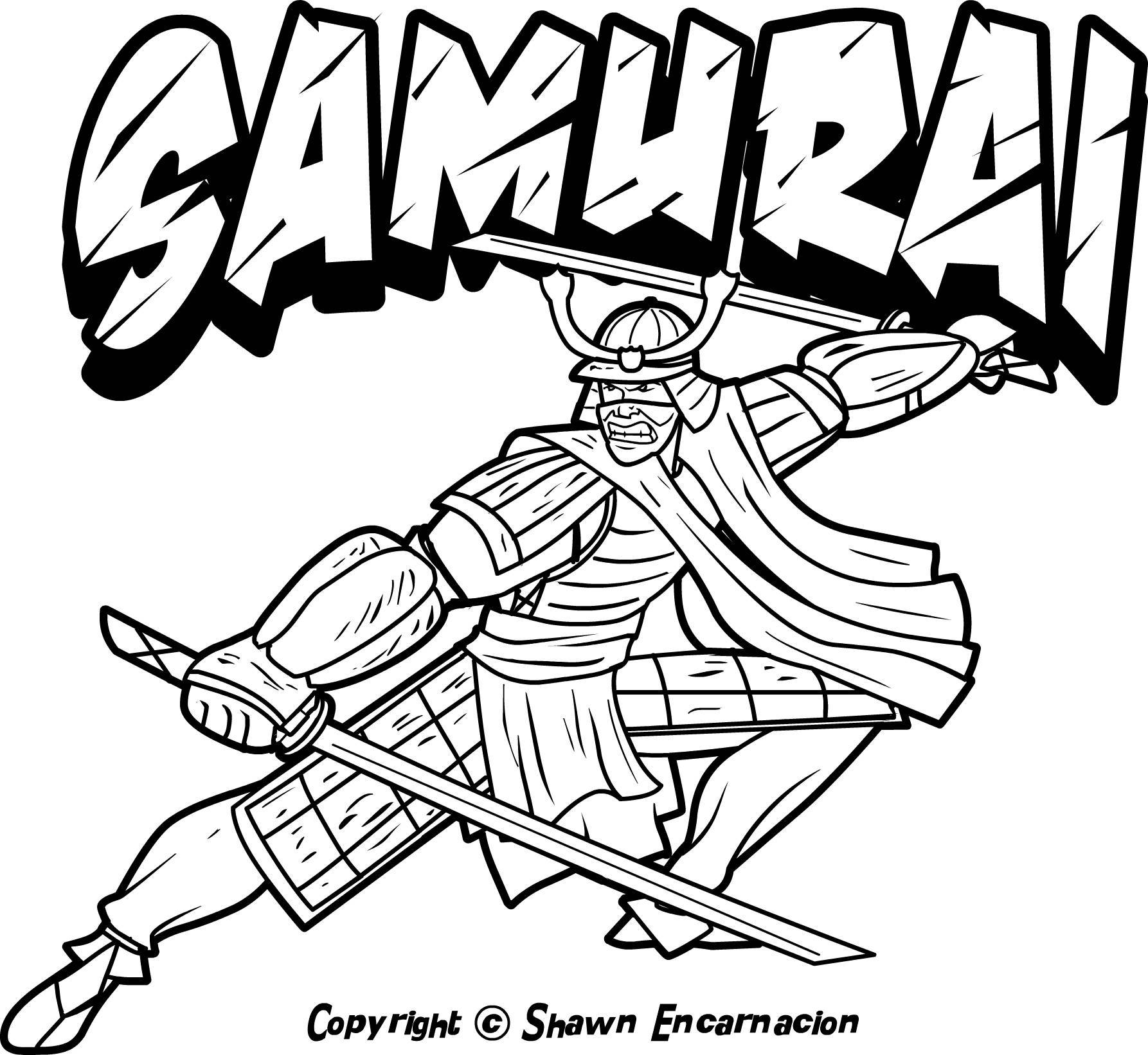 1786x1642 Awesome Japanese Samurai Coloring Pages Colouring Grigorg