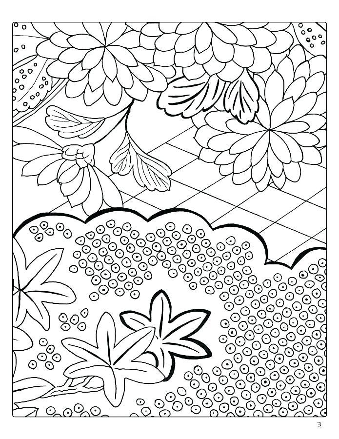 695x900 Japanese Coloring Pages Japan Book Plus Decorative Designs