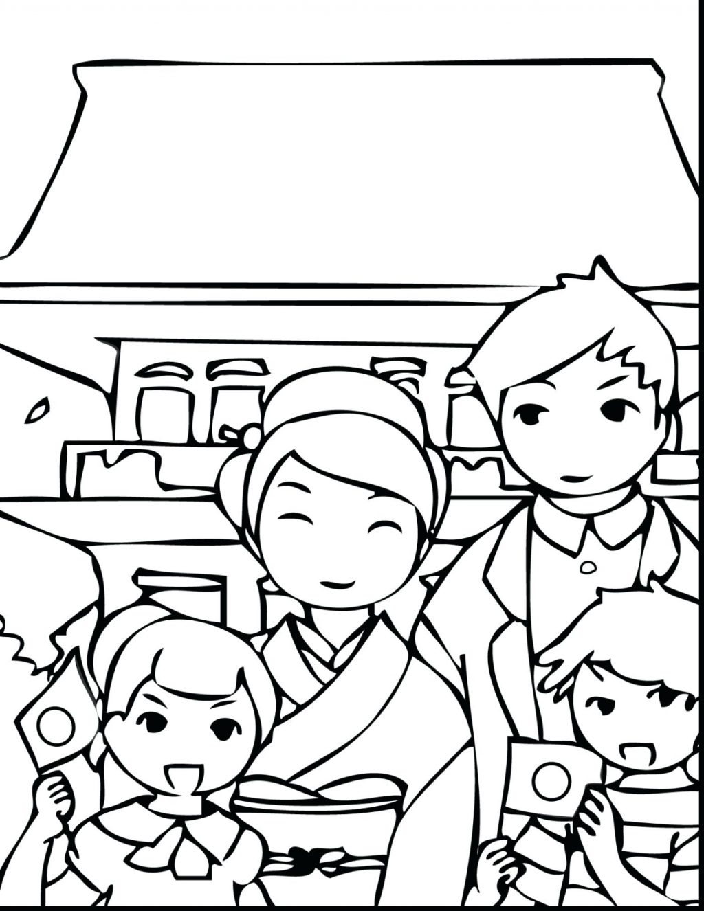 1024x1326 Coloring Pages Japanese Coloring Pages Impressive Holiday