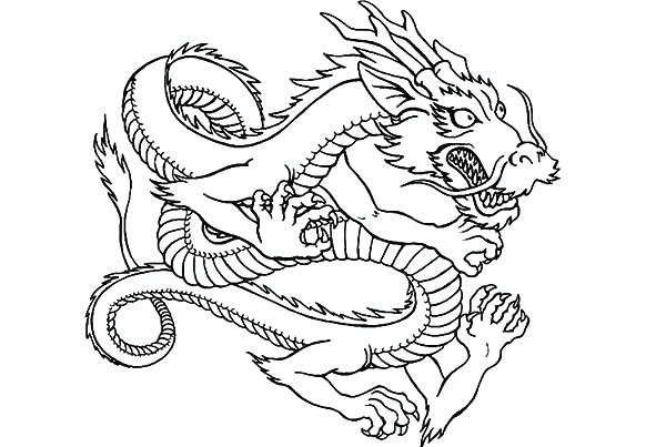 600x403 Coloring Pages Of Dragons Or Realistic Dragon Coloring Pages