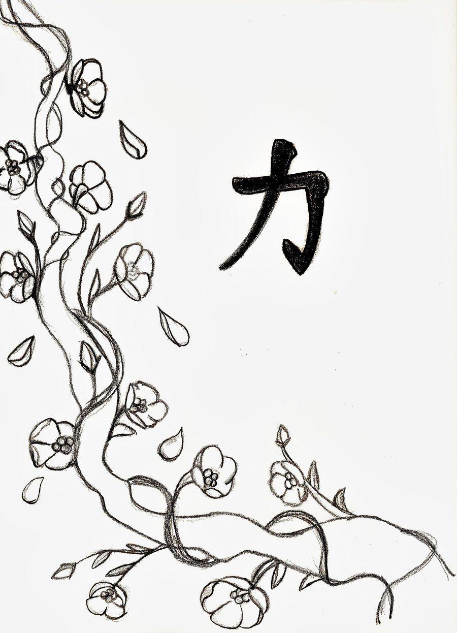 900x1246 Cherry Blossom Line Drawing Branding Cherry