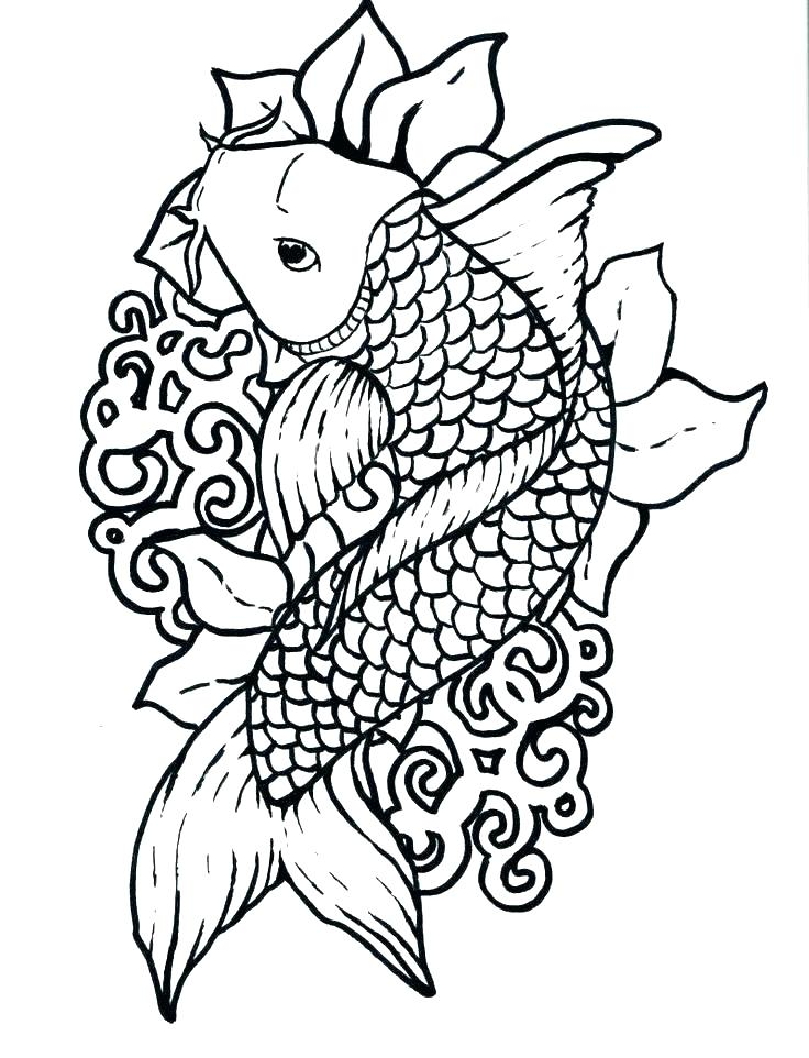 Japanese Garden Coloring Pages