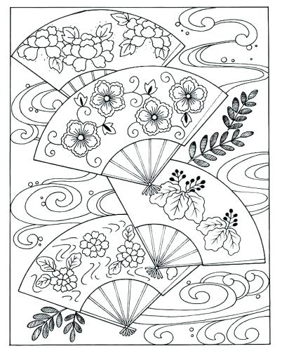 402x500 Japan Coloring Pages Japan Coloring Pages For Adults Japanese
