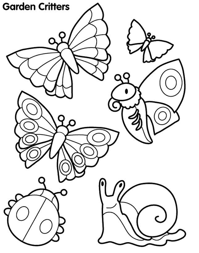 645x818 Japanese Garden Coloring Page You Can See These Garden Critters