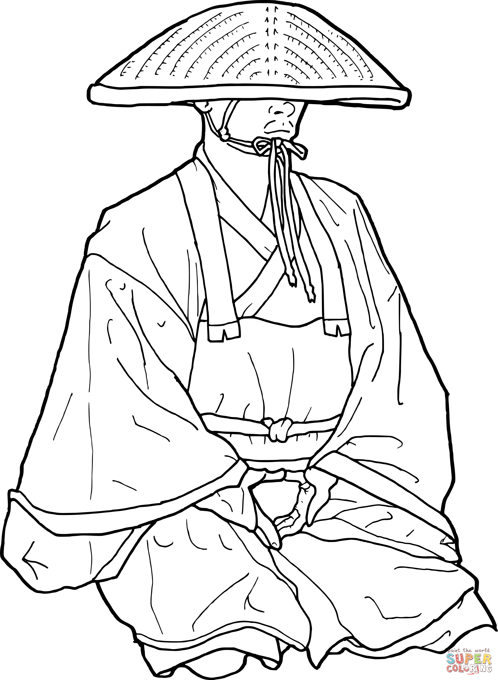 2000x2730 Japanese Coloring Pages Free Page Geisha Japan Tatoo A Beautiful