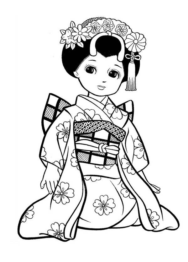 600x834 Ladies Coloring Pages Pretty Girls Coloring Pages For Preschool