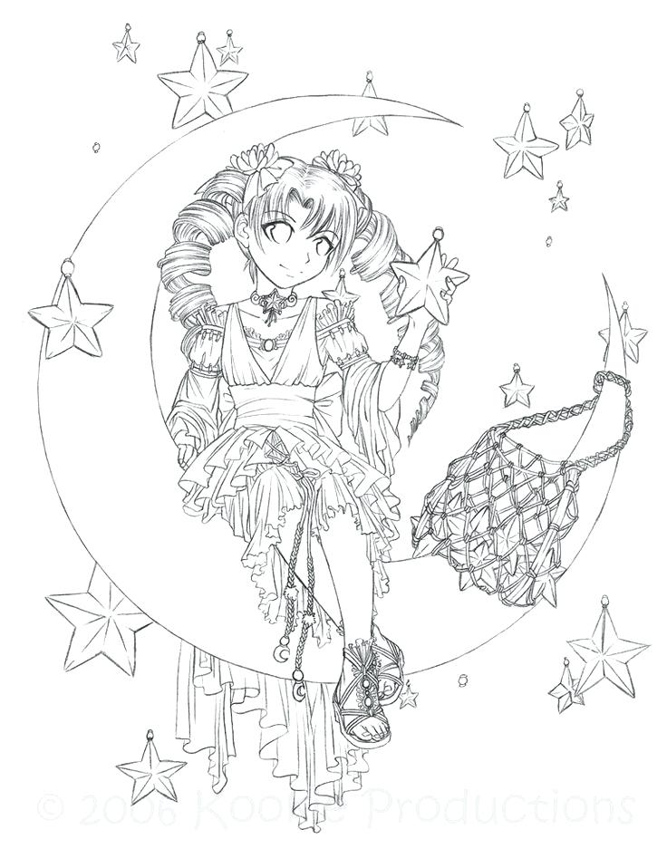 Japanese Manga Coloring Pages at GetDrawings.com | Free for ...