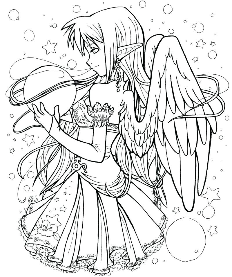 The Best Free Manga Coloring Page Images Download From 414 Free Coloring Pages Of Manga At Getdrawings