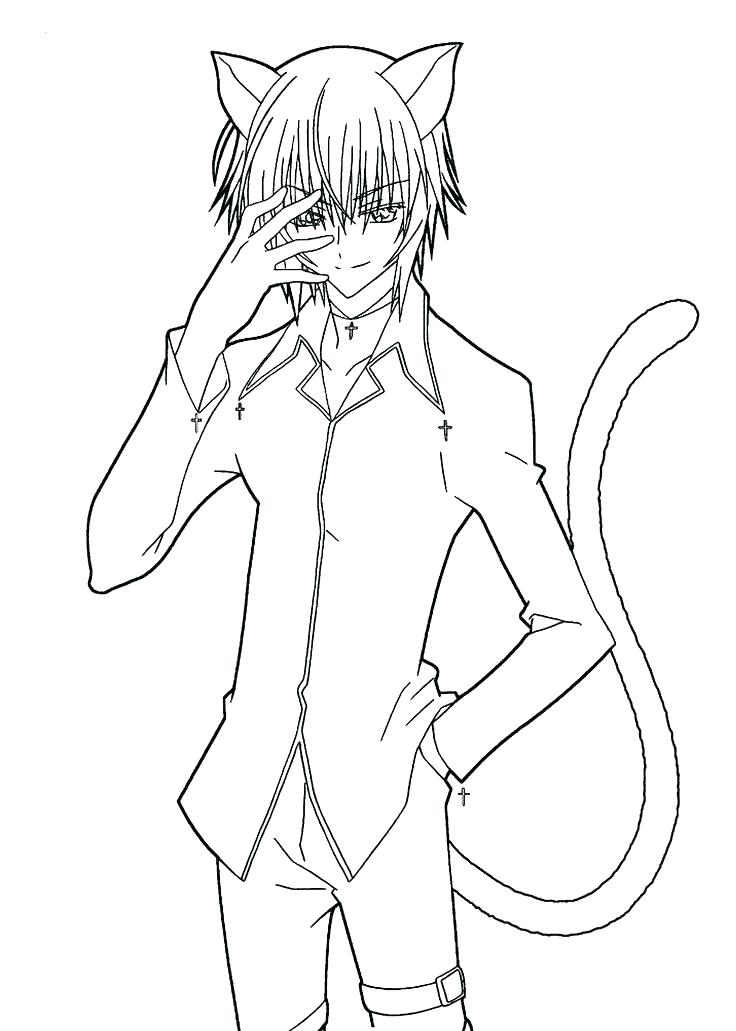736x1031 Animation Coloring Pages Free Anime Coloring Pages Drawn Manga