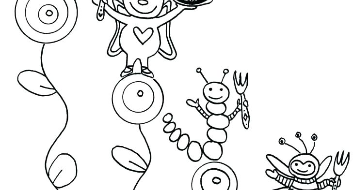 728x393 Coloring Bugs Bug Coloring Sheets Bug Jar Coloring Page Coloring