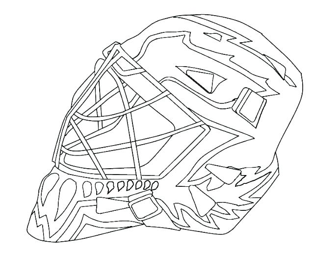 640x516 Goalie Mask Painting Template Images
