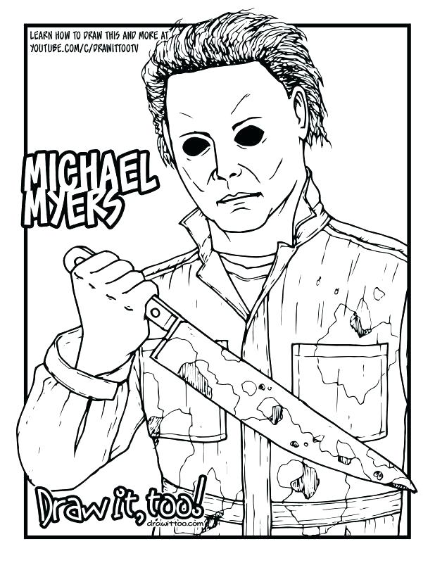 618x800 Jason Voorhees Coloring Pages Coloring Pages The Jason Voorhees