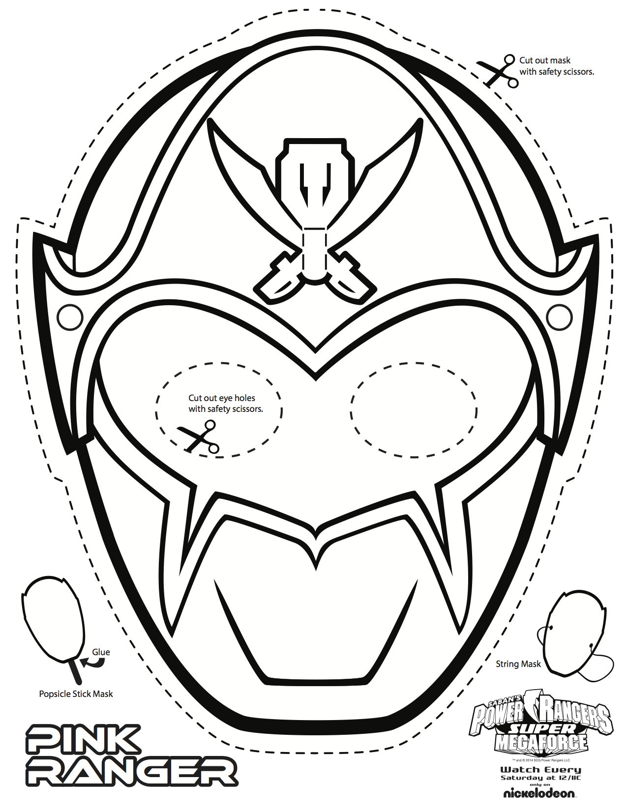 1275x1650 Power Rangers Super Megaforce Coloring Pages
