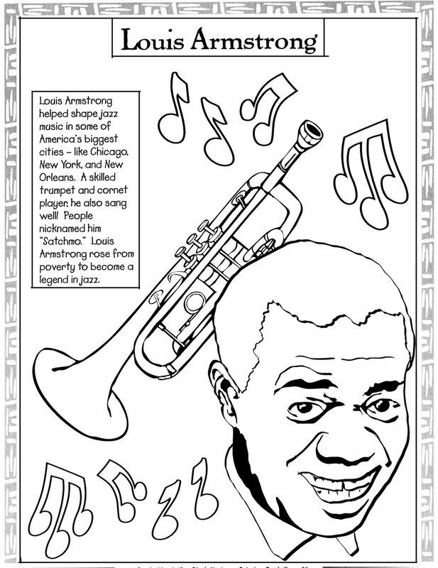 Jazz Band Coloring Pages at GetDrawings com | Free for personal use