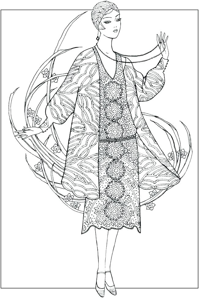 650x971 Fashion Design Coloring Pages Design Coloring Pages For Fashion