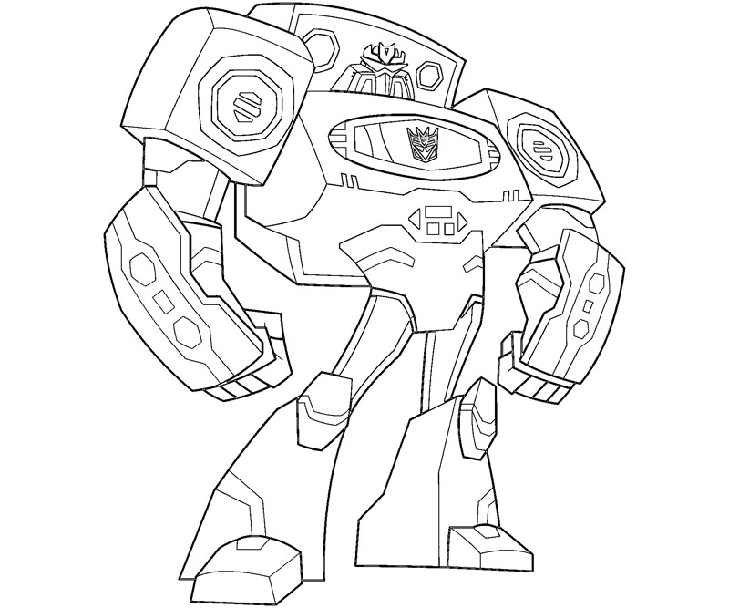 800x667 Best Transformers Coloring Pages Jazz