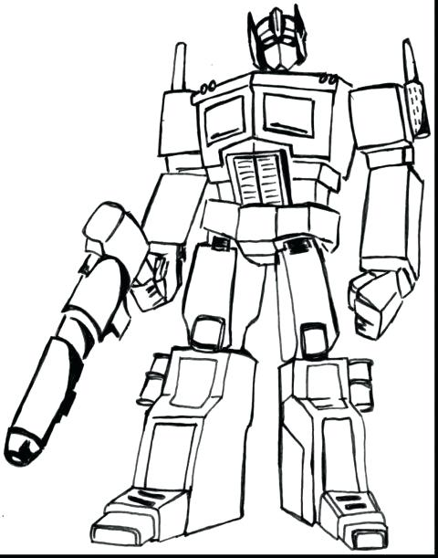 480x611 Transformers Coloring Pages Jazz