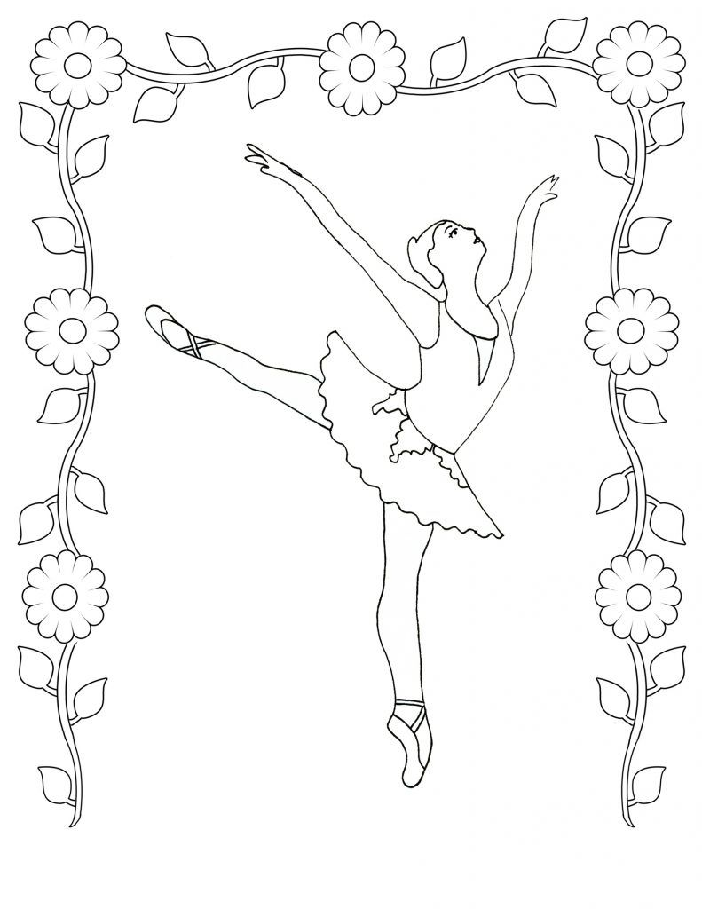 791x1024 Free Printable Ballet Coloring Pages For Kids Ballet Dancers