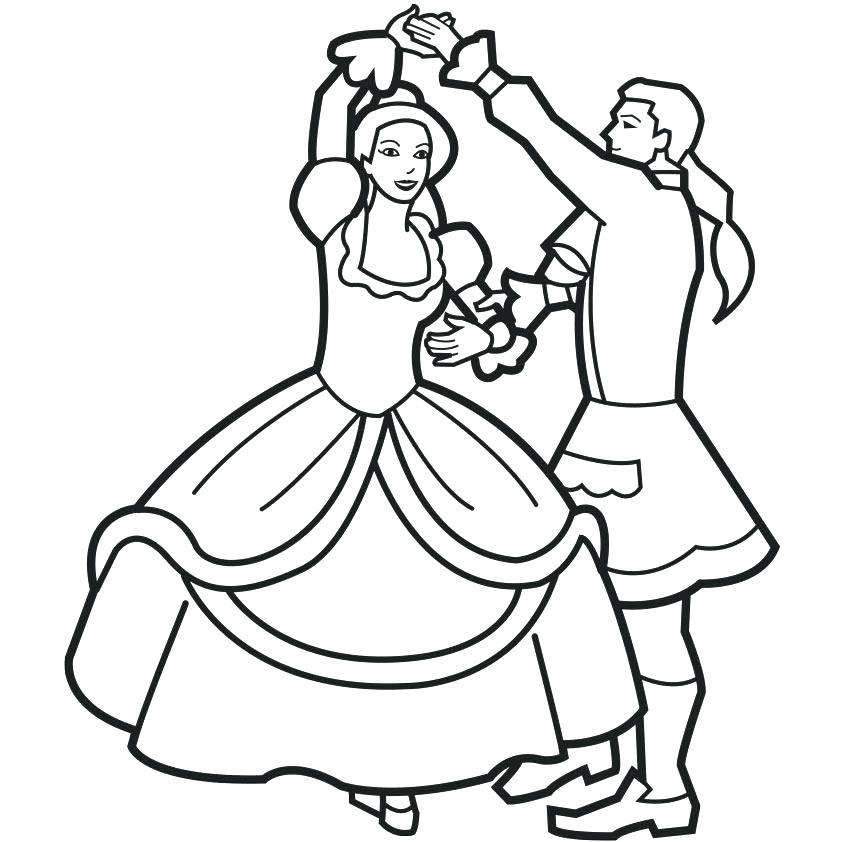 842x842 Dance Coloring Page Dance Color Pages Coloring Pages For Kids Free