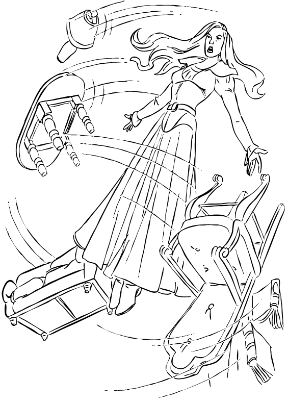 565x792 Jean Grey Coloring Pages