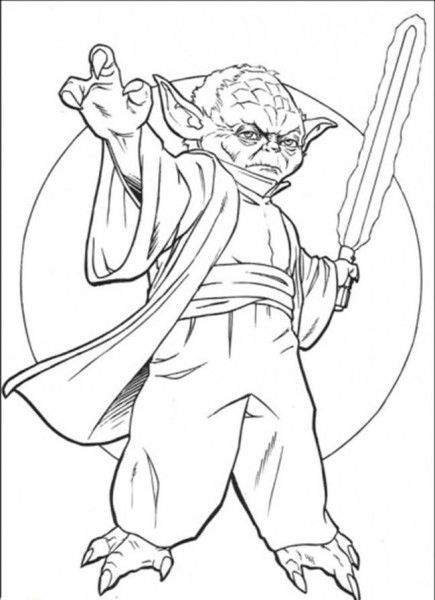 The Best Free Yoda Coloring Page Images Download From 336 Free