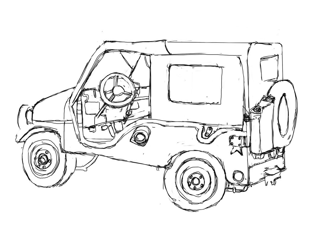 1046x763 Jeep Coloring Pages Car Coloring Pages Cool Cars