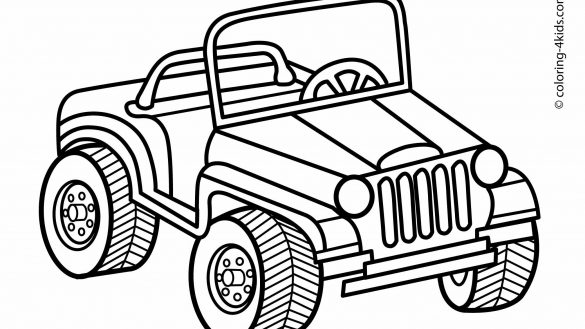 585x329 Jeep Coloring Pages To Download And Print For Free