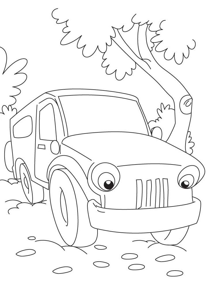 714x972 Top Free Printable Jeep Coloring Pages Online Je Child
