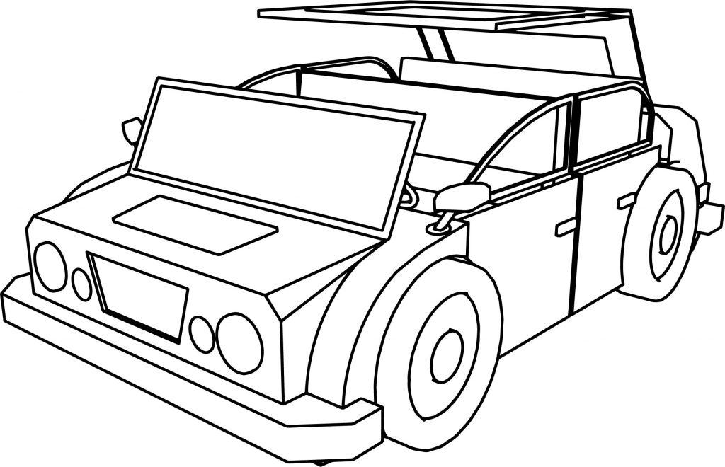 1024x660 Cartoon Car Jeep Coloring Page Wecoloringpage