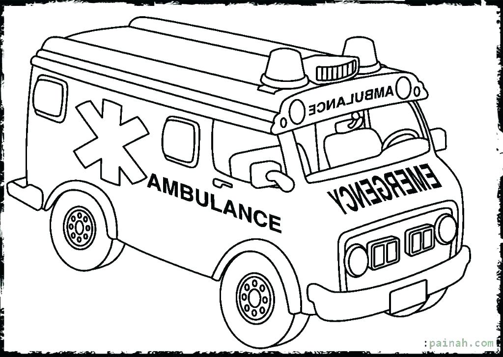 1024x728 Jeep Coloring Pages Ambulance Coloring Pages Emergency Ambulance