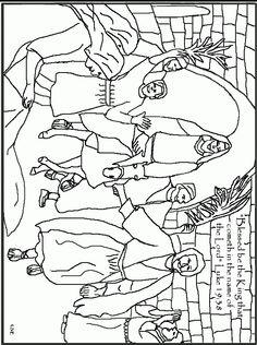 236x316 Image Result For Jesus Rides On A Donkey Into Jerusalem Coloring