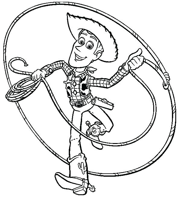 600x650 Jessie Toy Story Coloring Pages Toy Story Color Sheets Toy Story