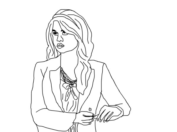 600x450 Jessie Coloring Pages To Print Mesmerizing Jessie Coloring Page