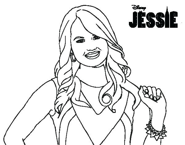 600x470 Hd Wallpapers Disney Channel Jessie Coloring Pages To Print