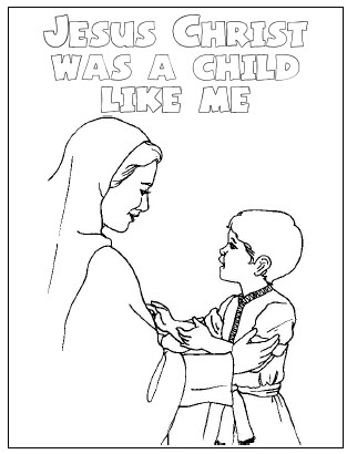 313x410 Jesus As A Child Coloring Pages Jesus Was A Child Like Me Coloring