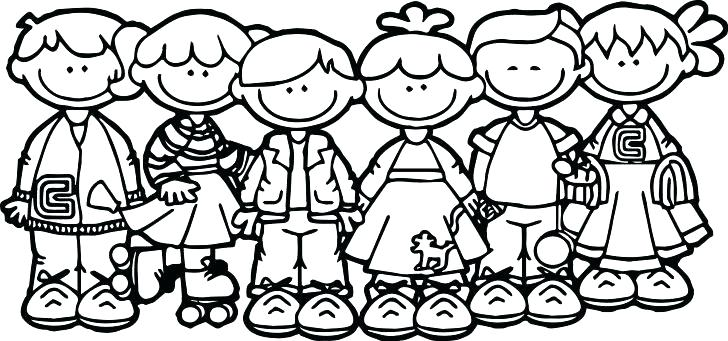 728x341 Jesus Loves The Children Coloring Page Coloring Page Of Plus Loves