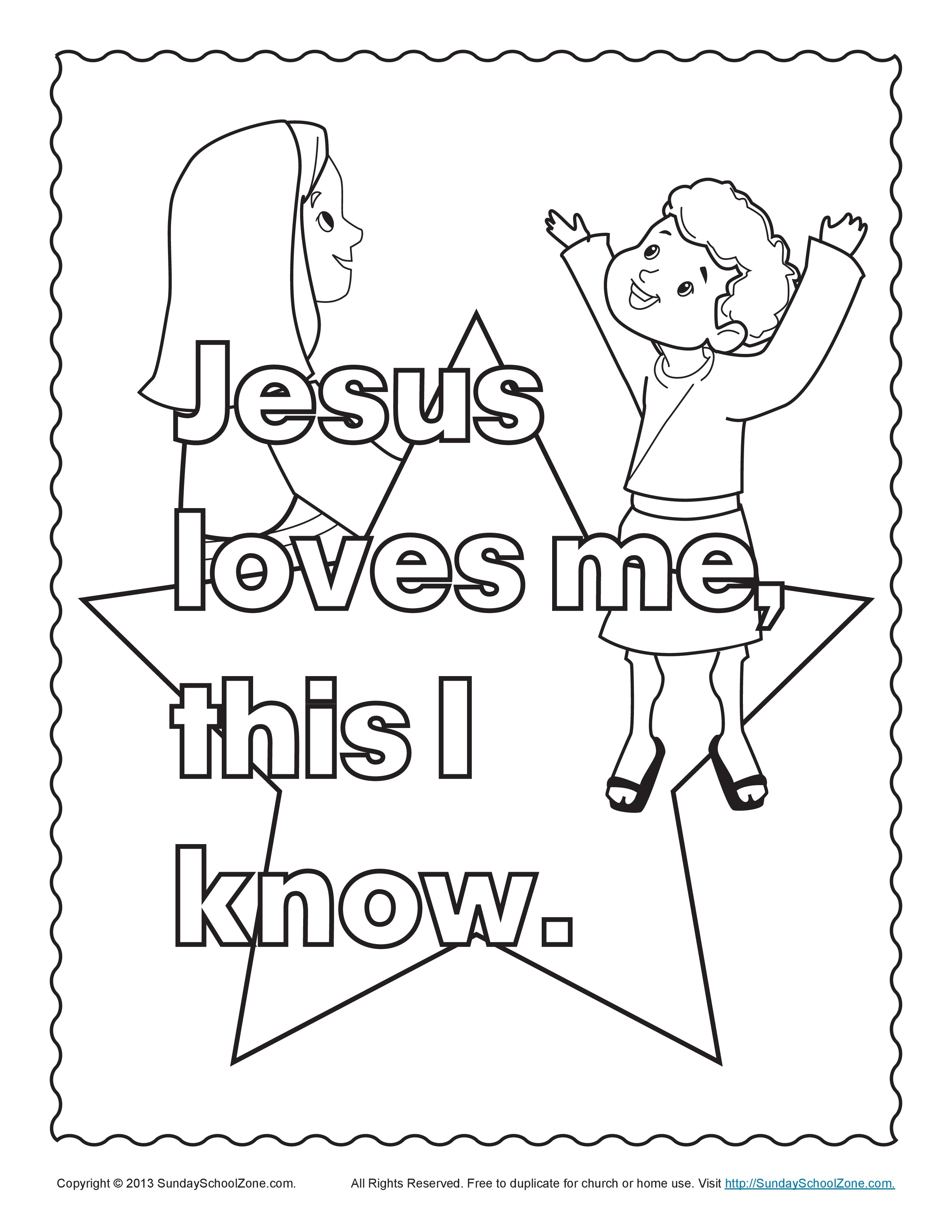 2550x3300 Jesus Loves The Little Children Coloring Pages Free Coloring