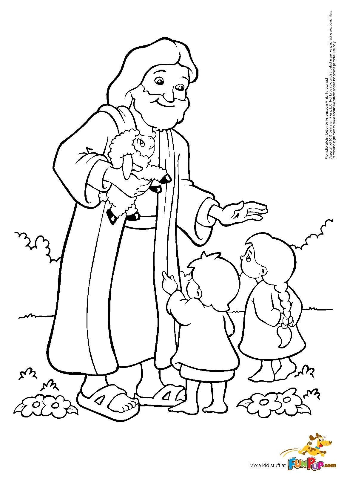 1163x1613 Best Jesus With Children Coloring Page Happy Birthday Pages