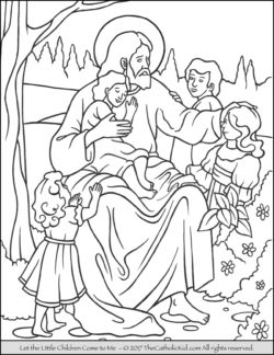 250x324 Free Printable Catholic Coloring Pages For Kids